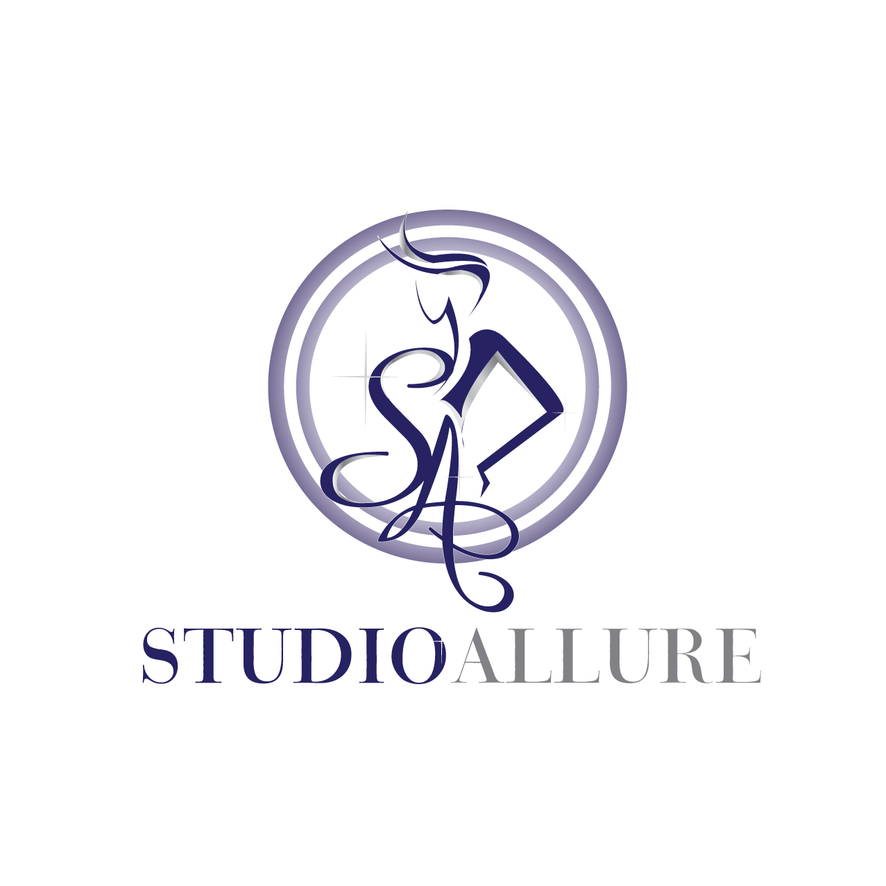 Logo Design by stormbighit - Entry No. 100 in the Logo Design Contest Logo Design Needed for Exciting New Company Studio Allure.