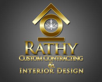 Logo Design by JohnSparks - Entry No. 18 in the Logo Design Contest Logo Design Needed for Exciting New Company Rathy Custom Contracting & Interior Design.