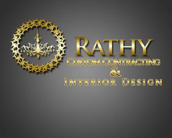 Logo Design by JohnSparks - Entry No. 19 in the Logo Design Contest Logo Design Needed for Exciting New Company Rathy Custom Contracting & Interior Design.