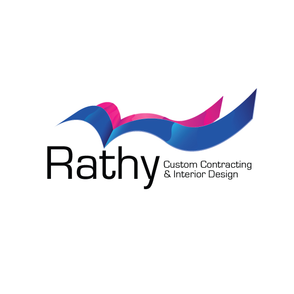 Logo Design by storm - Entry No. 35 in the Logo Design Contest Logo Design Needed for Exciting New Company Rathy Custom Contracting & Interior Design.
