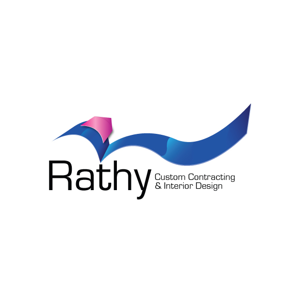 Logo Design by storm - Entry No. 36 in the Logo Design Contest Logo Design Needed for Exciting New Company Rathy Custom Contracting & Interior Design.