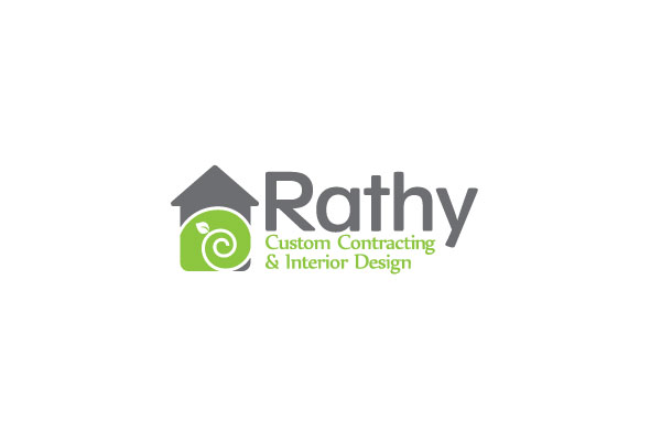 Logo Design by logoziner - Entry No. 37 in the Logo Design Contest Logo Design Needed for Exciting New Company Rathy Custom Contracting & Interior Design.
