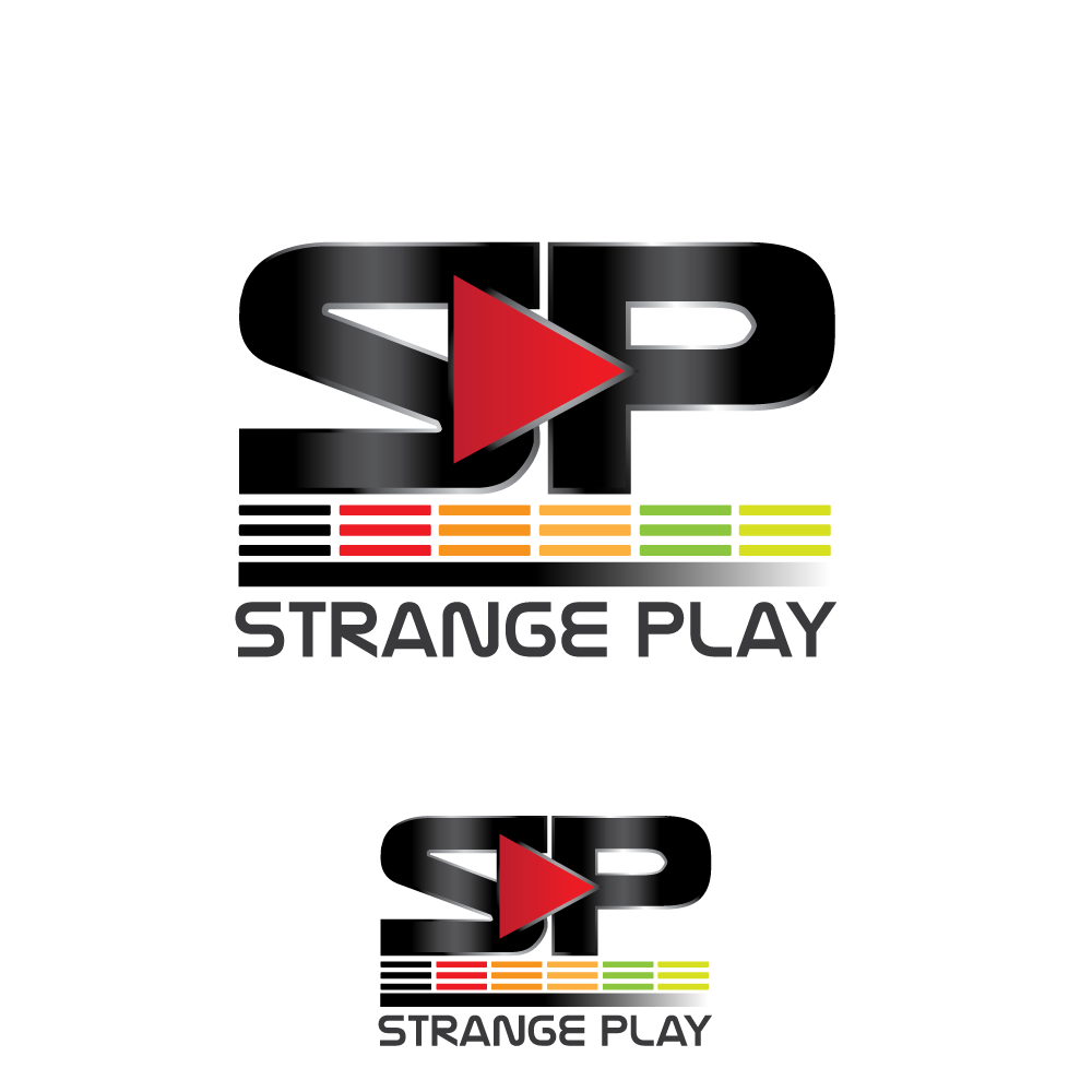 Logo Design by rockin - Entry No. 13 in the Logo Design Contest Strange Play Logo Design.