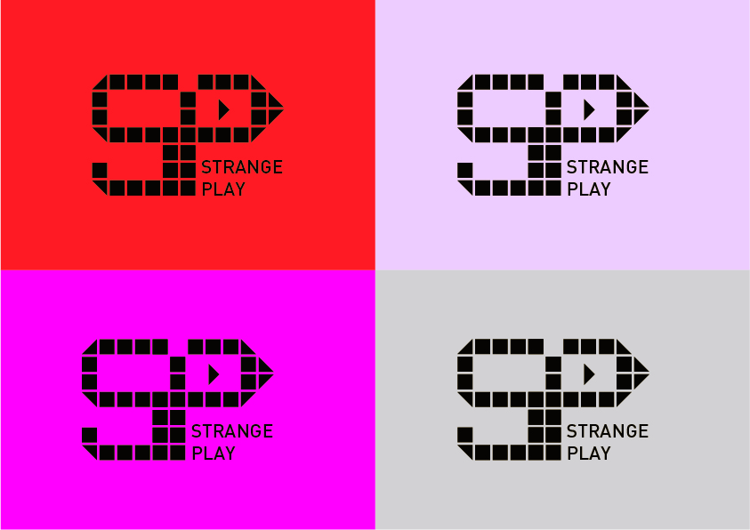 Logo Design by Christian Nascimento - Entry No. 15 in the Logo Design Contest Strange Play Logo Design.