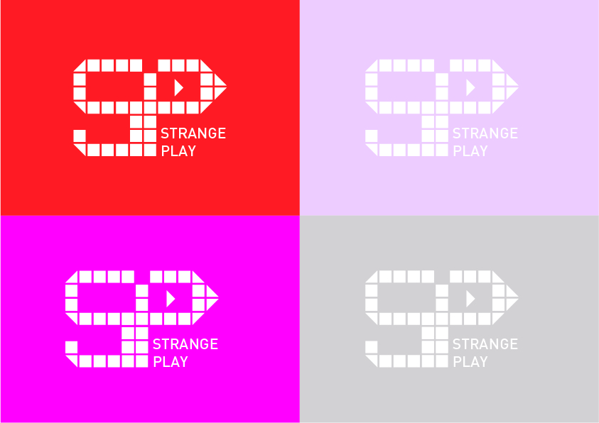 Logo Design by Christian Nascimento - Entry No. 16 in the Logo Design Contest Strange Play Logo Design.