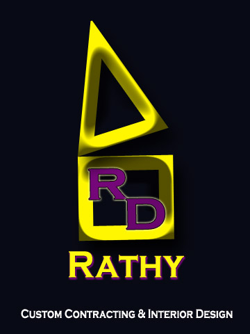 Logo Design by Moag - Entry No. 42 in the Logo Design Contest Logo Design Needed for Exciting New Company Rathy Custom Contracting & Interior Design.