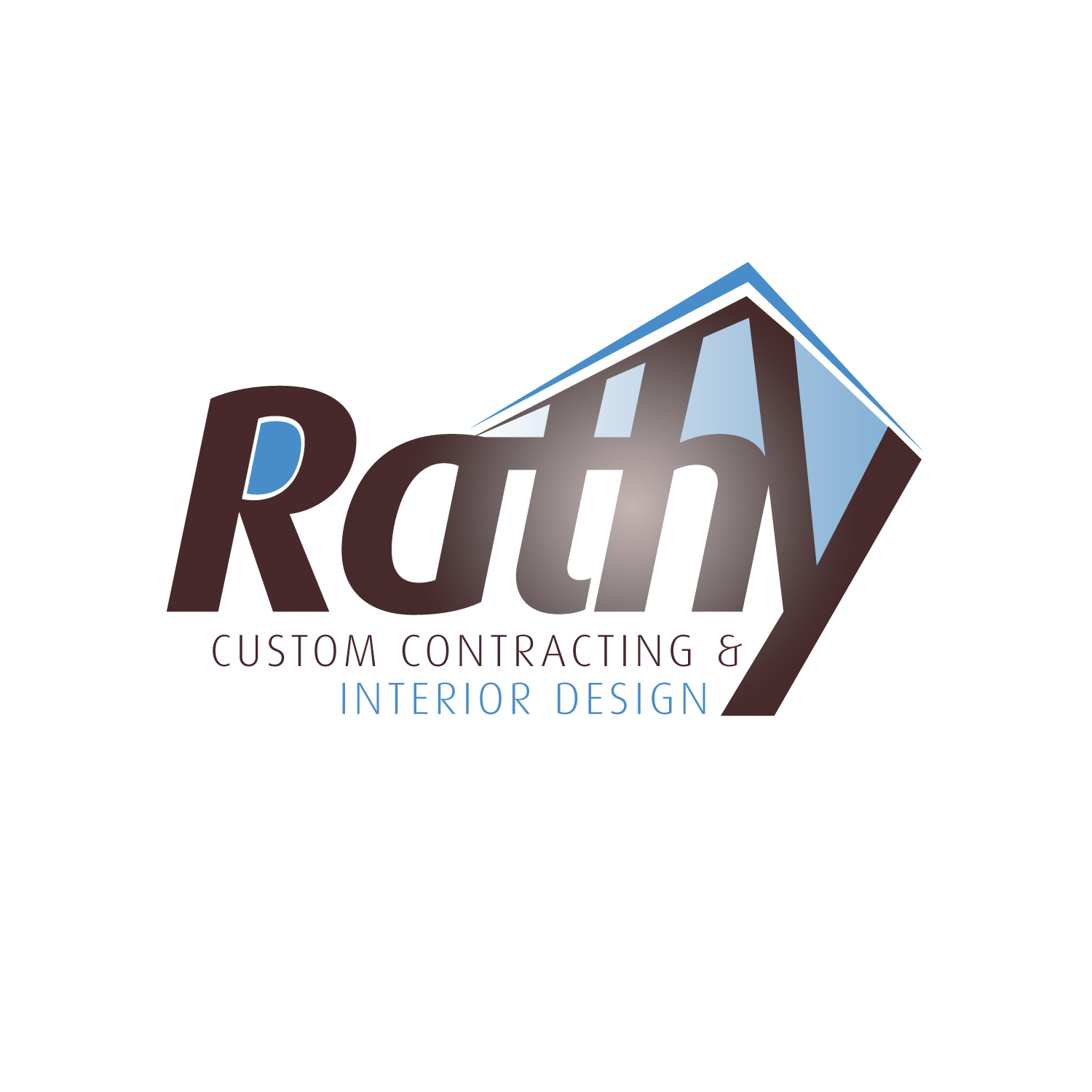 Logo Design by CaptainBope - Entry No. 50 in the Logo Design Contest Logo Design Needed for Exciting New Company Rathy Custom Contracting & Interior Design.
