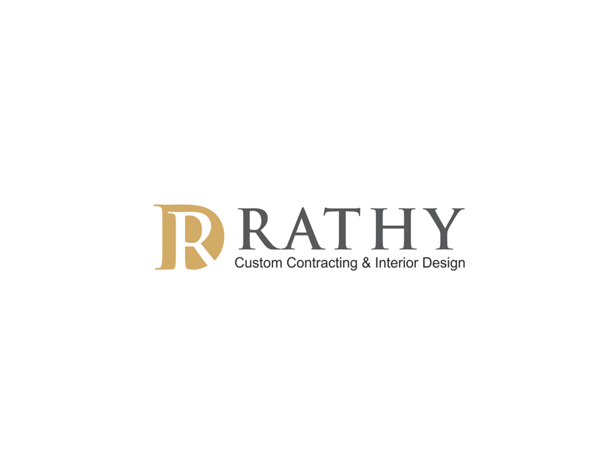 Logo Design by vdhadse - Entry No. 55 in the Logo Design Contest Logo Design Needed for Exciting New Company Rathy Custom Contracting & Interior Design.