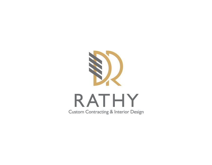 Logo Design by vdhadse - Entry No. 56 in the Logo Design Contest Logo Design Needed for Exciting New Company Rathy Custom Contracting & Interior Design.