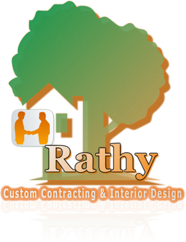Logo Design by Private User - Entry No. 59 in the Logo Design Contest Logo Design Needed for Exciting New Company Rathy Custom Contracting & Interior Design.