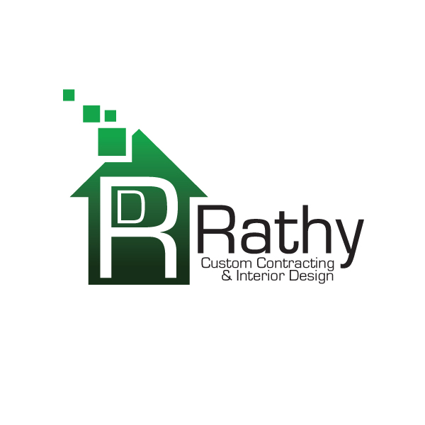 Logo Design by storm - Entry No. 66 in the Logo Design Contest Logo Design Needed for Exciting New Company Rathy Custom Contracting & Interior Design.