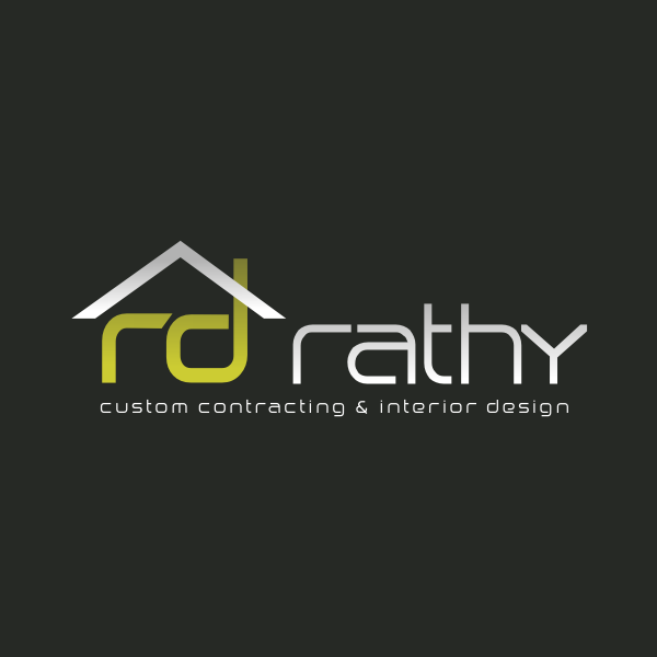 Logo Design by Rudy - Entry No. 69 in the Logo Design Contest Logo Design Needed for Exciting New Company Rathy Custom Contracting & Interior Design.