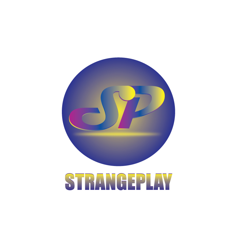 Logo Design by Dan Cristian - Entry No. 34 in the Logo Design Contest Strange Play Logo Design.