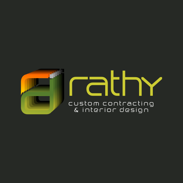 Logo Design by Rudy - Entry No. 85 in the Logo Design Contest Logo Design Needed for Exciting New Company Rathy Custom Contracting & Interior Design.
