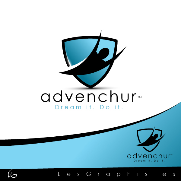 Logo Design by Les-Graphistes - Entry No. 9 in the Logo Design Contest Logo design for fun and exciting experience/adventure business!.