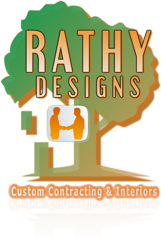 Logo Design by Private User - Entry No. 96 in the Logo Design Contest Logo Design Needed for Exciting New Company Rathy Custom Contracting & Interior Design.