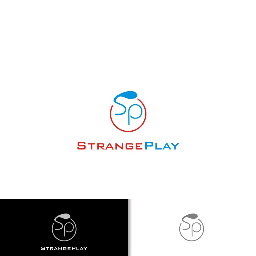Logo Design by graphicleaf - Entry No. 39 in the Logo Design Contest Strange Play Logo Design.
