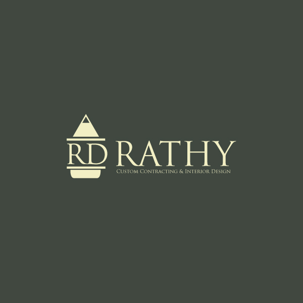 Logo Design by storm - Entry No. 103 in the Logo Design Contest Logo Design Needed for Exciting New Company Rathy Custom Contracting & Interior Design.