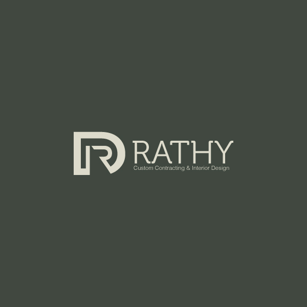 Logo Design by storm - Entry No. 104 in the Logo Design Contest Logo Design Needed for Exciting New Company Rathy Custom Contracting & Interior Design.