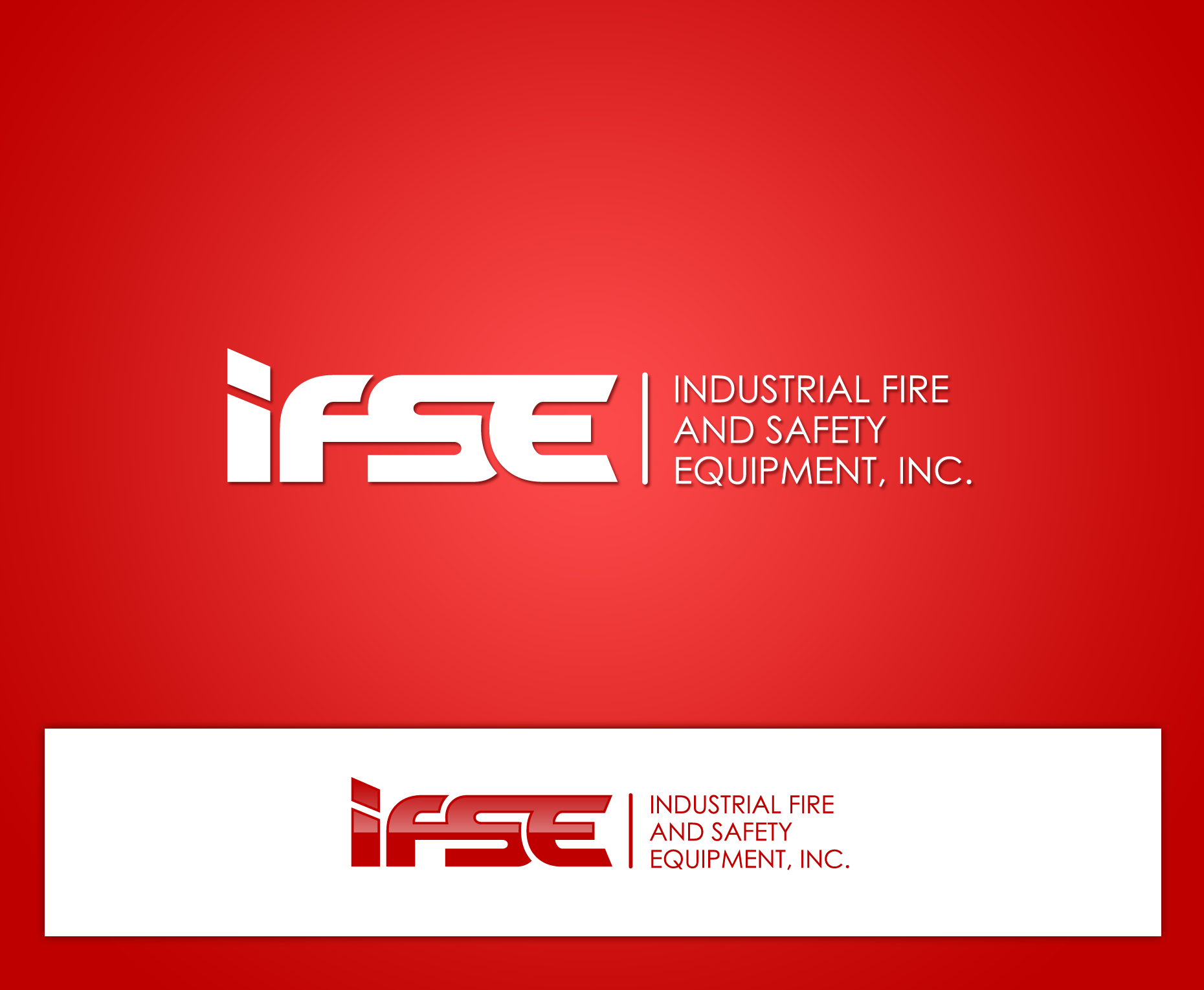Logo Design by Yans - Entry No. 6 in the Logo Design Contest New Logo Design for Industrial Fire and Safety Equipment, Inc..