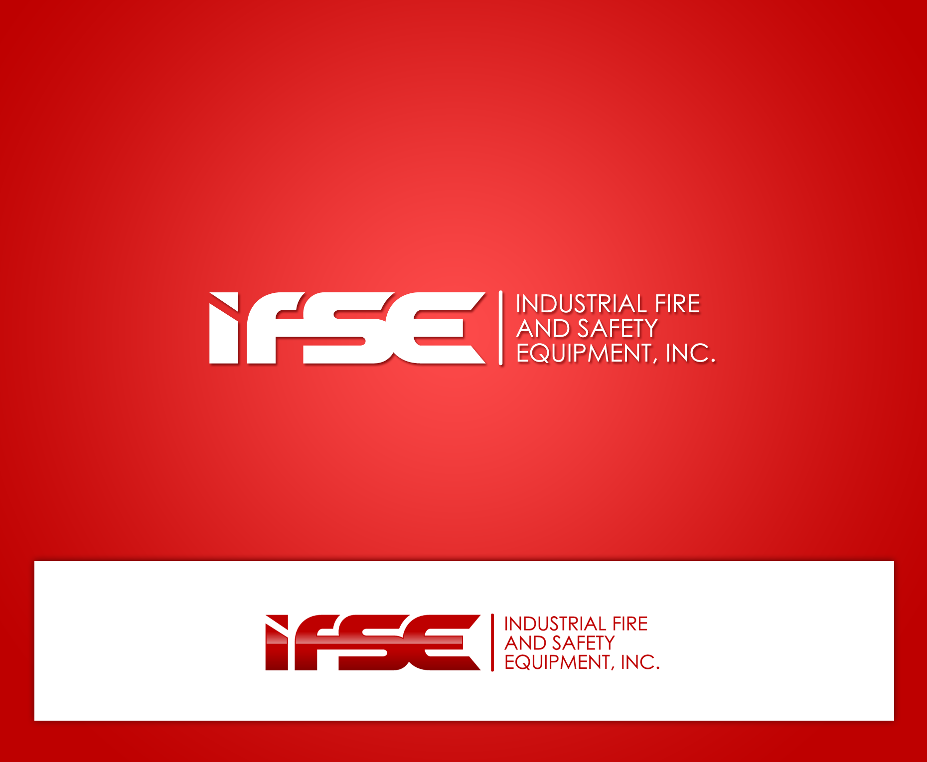Logo Design by Yans - Entry No. 13 in the Logo Design Contest New Logo Design for Industrial Fire and Safety Equipment, Inc..
