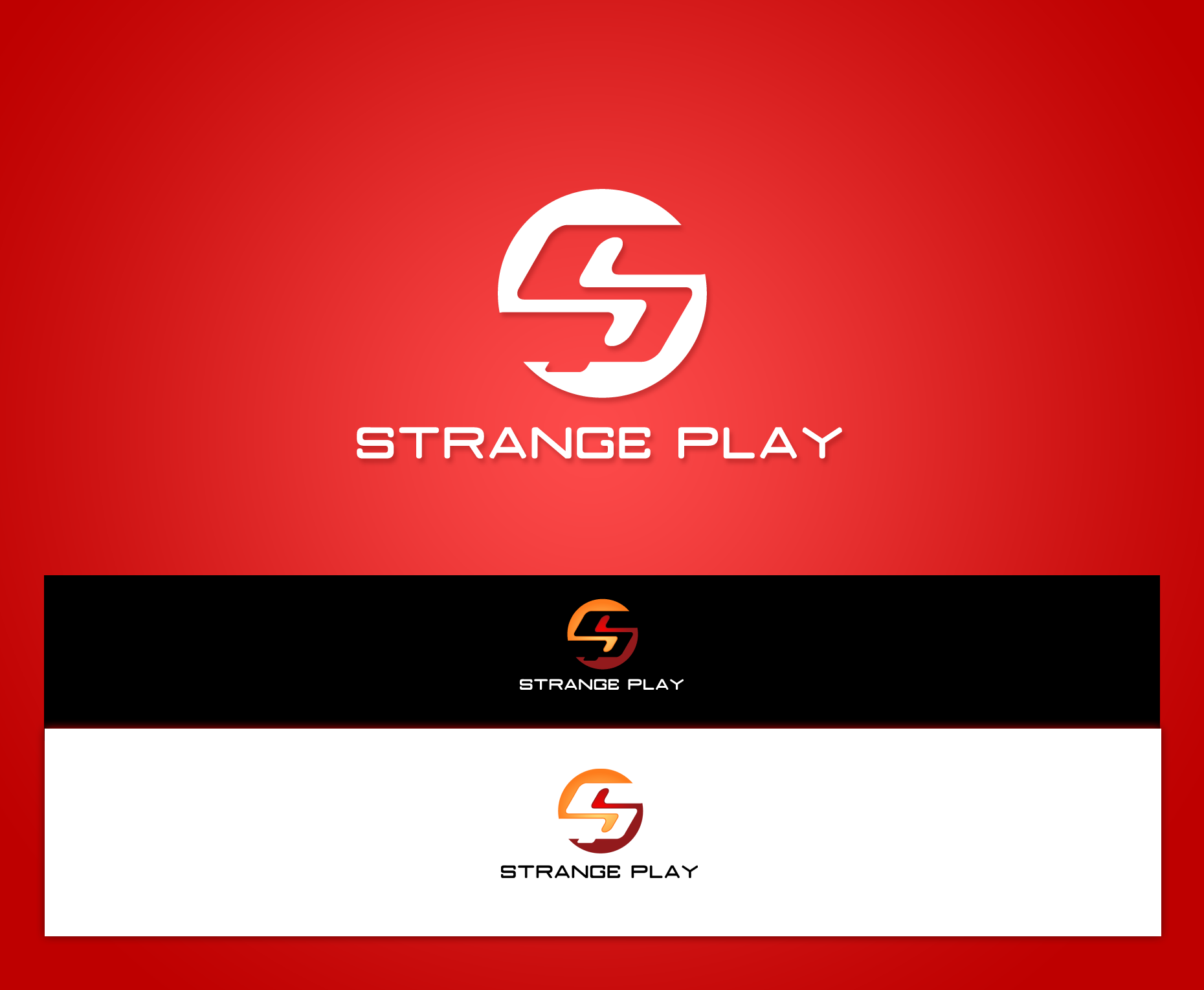 Logo Design by Yans - Entry No. 68 in the Logo Design Contest Strange Play Logo Design.