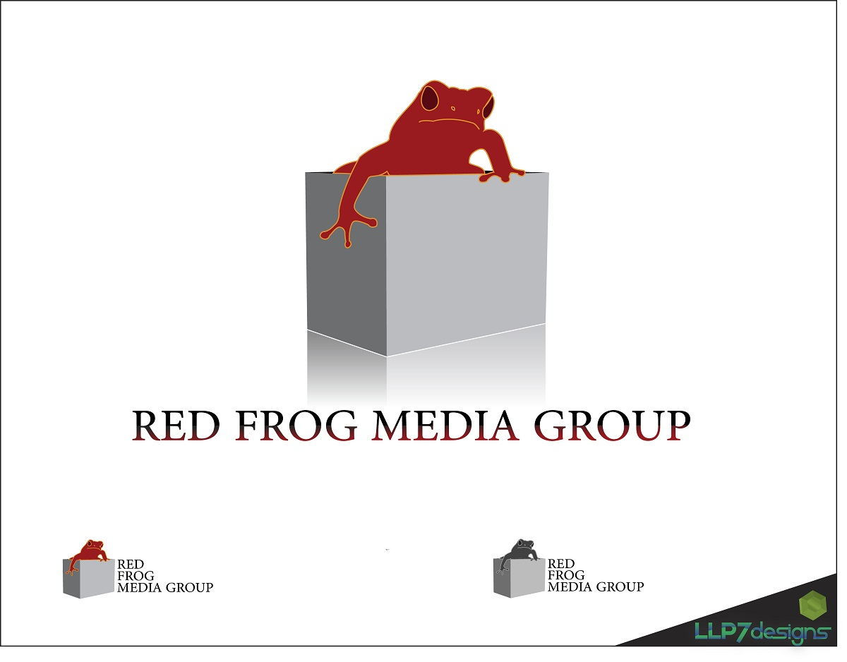 Logo Design by LLP7 - Entry No. 1 in the Logo Design Contest New Logo Design for Red Frog Media Group.