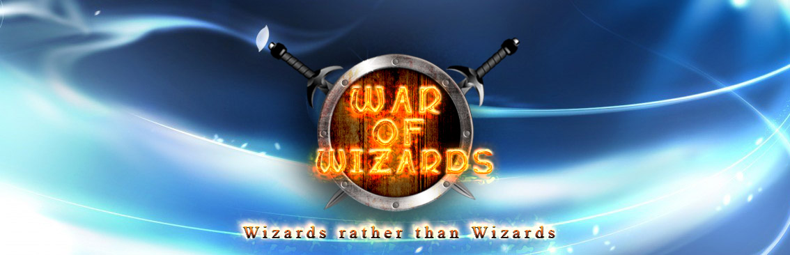 Banner Ad Design by Private User - Entry No. 66 in the Banner Ad Design Contest Banner Ad Design - War of Wizards (fantasy game).