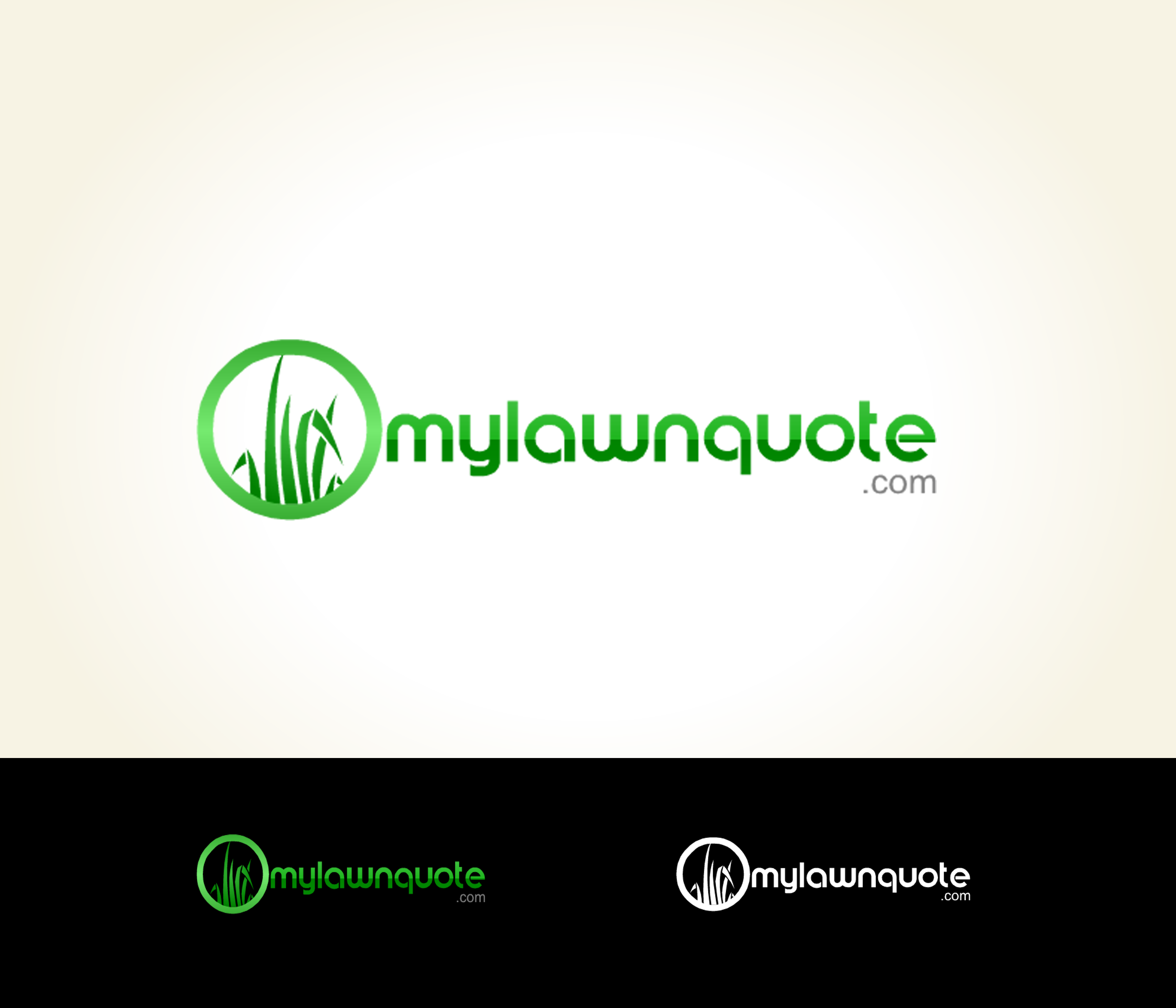 Logo Design by Lara Puno - Entry No. 6 in the Logo Design Contest Logo Design Needed for Exciting New Company mylawnquote.com.