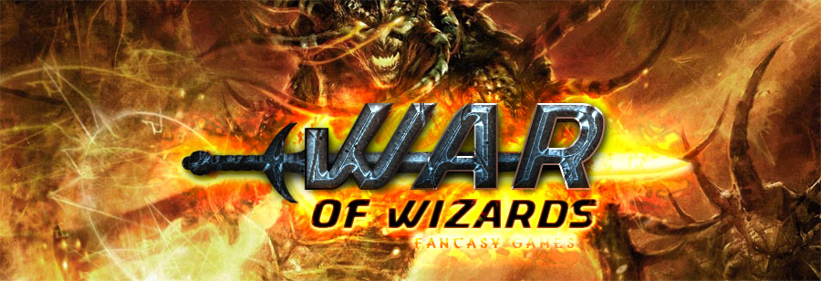 Banner Ad Design by Private User - Entry No. 18 in the Banner Ad Design Contest Banner Ad Design - War of Wizards (fantasy game).