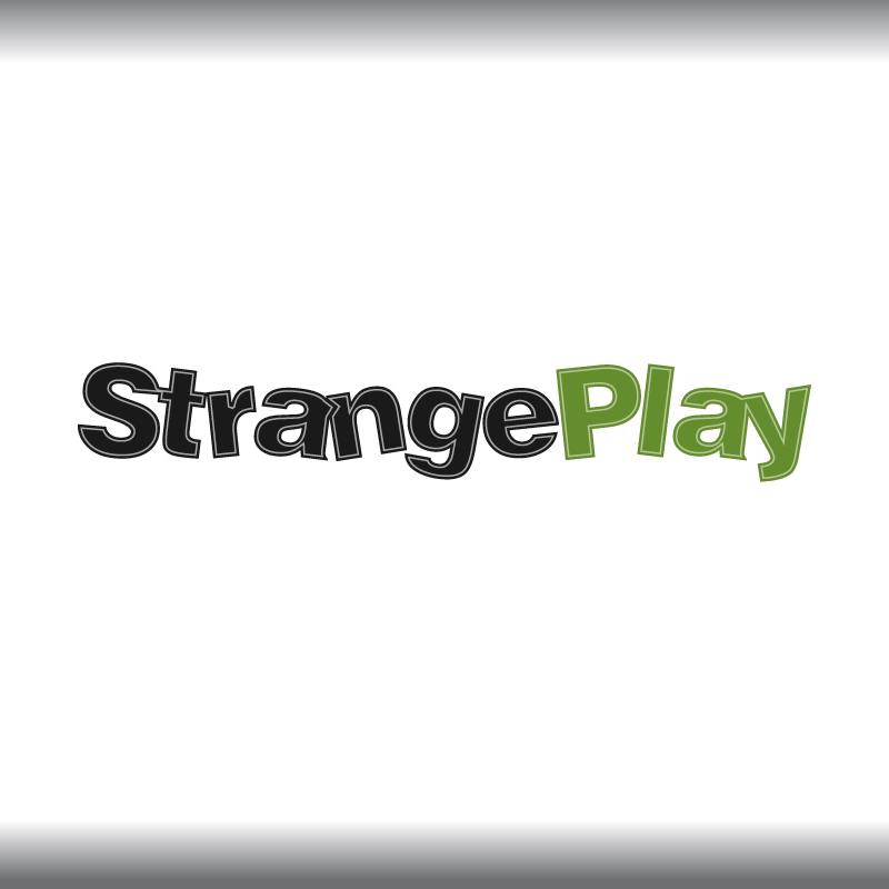 Logo Design by trav - Entry No. 81 in the Logo Design Contest Strange Play Logo Design.