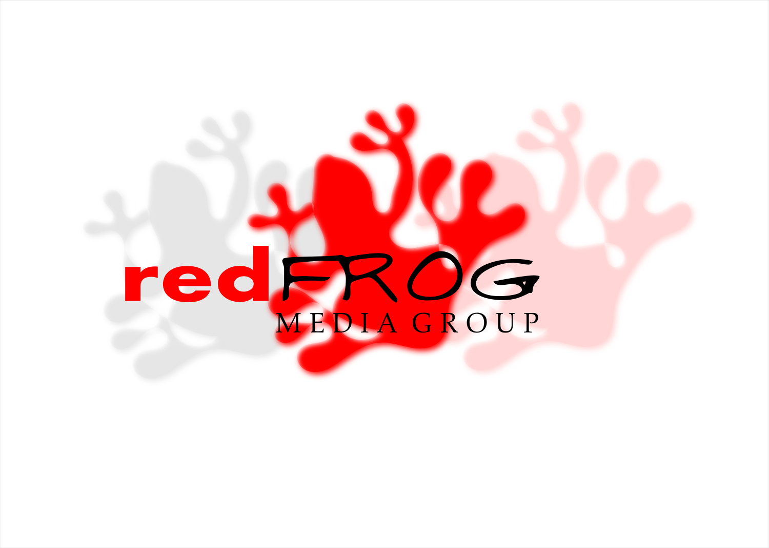 Logo Design by Joseph calunsag Cagaanan - Entry No. 7 in the Logo Design Contest New Logo Design for Red Frog Media Group.