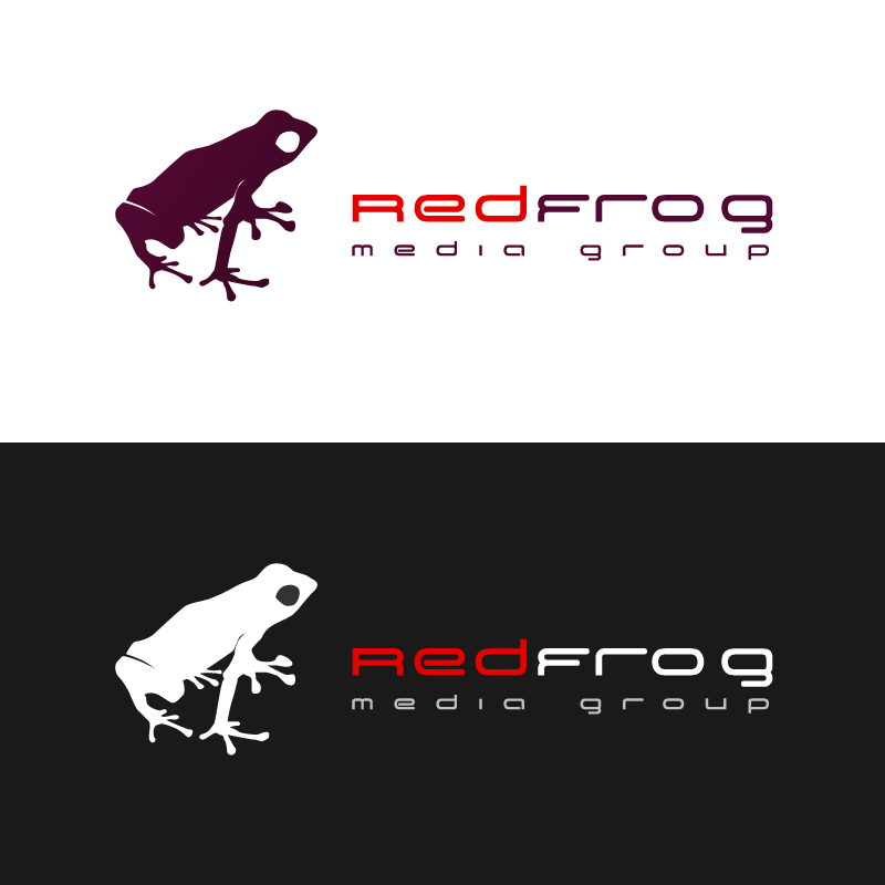 Logo Design by trav - Entry No. 8 in the Logo Design Contest New Logo Design for Red Frog Media Group.