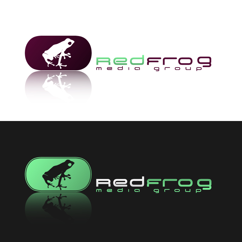 Logo Design by trav - Entry No. 9 in the Logo Design Contest New Logo Design for Red Frog Media Group.