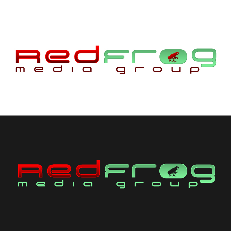 Logo Design by trav - Entry No. 17 in the Logo Design Contest New Logo Design for Red Frog Media Group.