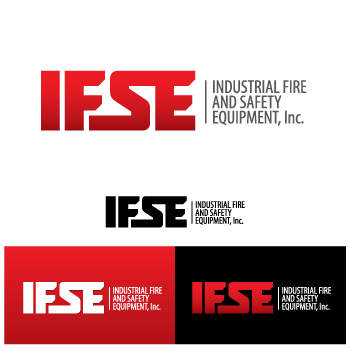 Logo Design by Desine_Guy - Entry No. 119 in the Logo Design Contest New Logo Design for Industrial Fire and Safety Equipment, Inc..