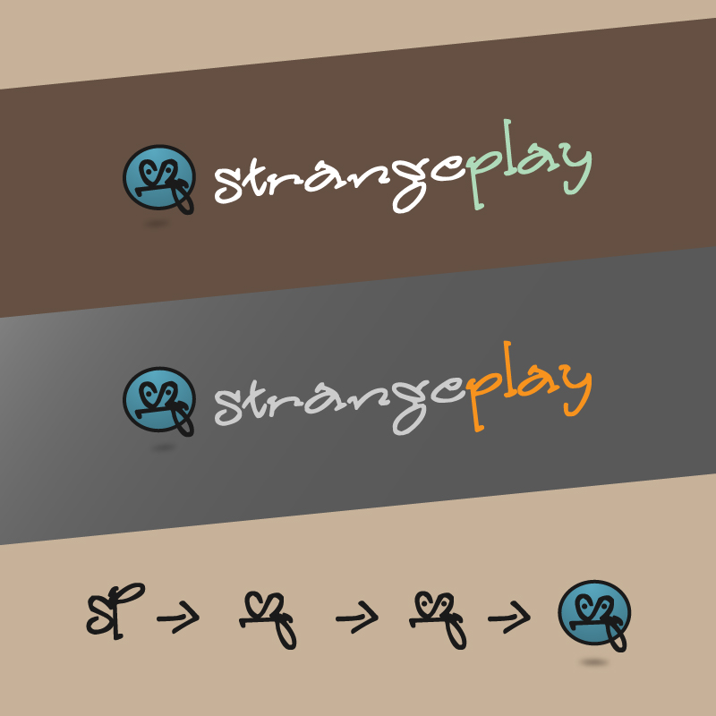 Logo Design by trav - Entry No. 95 in the Logo Design Contest Strange Play Logo Design.