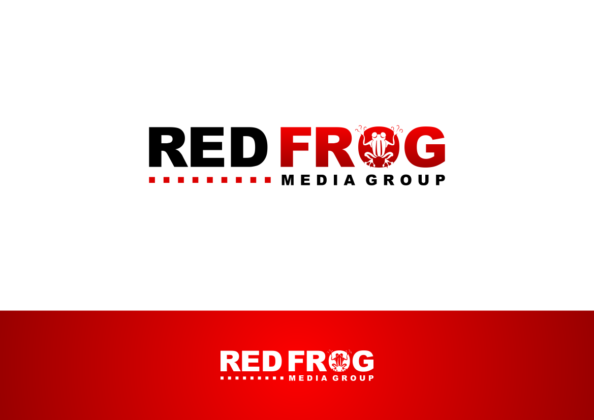 Logo Design by lucifer - Entry No. 19 in the Logo Design Contest New Logo Design for Red Frog Media Group.
