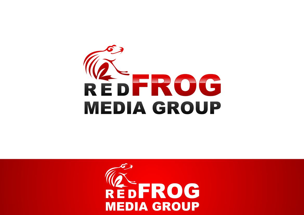 Logo Design by lucifer - Entry No. 20 in the Logo Design Contest New Logo Design for Red Frog Media Group.