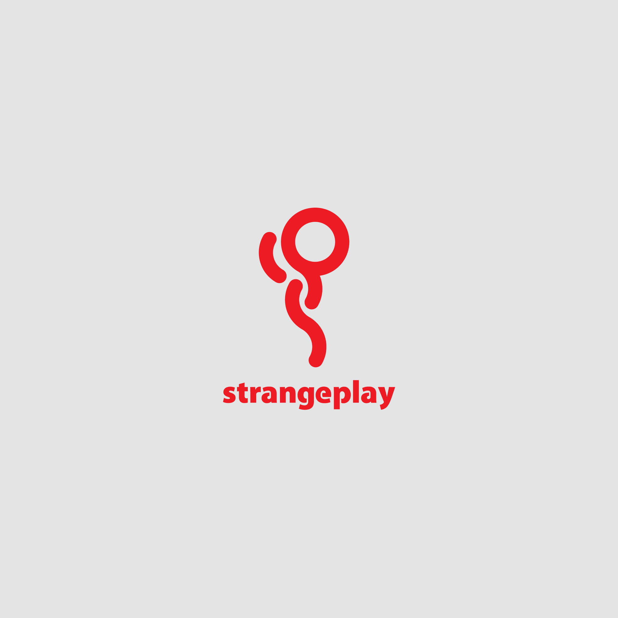 Logo Design by tanganpanas - Entry No. 110 in the Logo Design Contest Strange Play Logo Design.