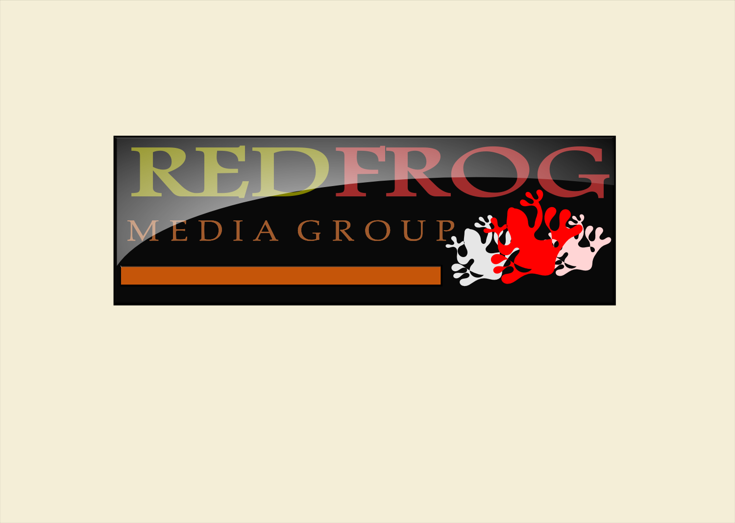 Logo Design by Joseph calunsag Cagaanan - Entry No. 24 in the Logo Design Contest New Logo Design for Red Frog Media Group.