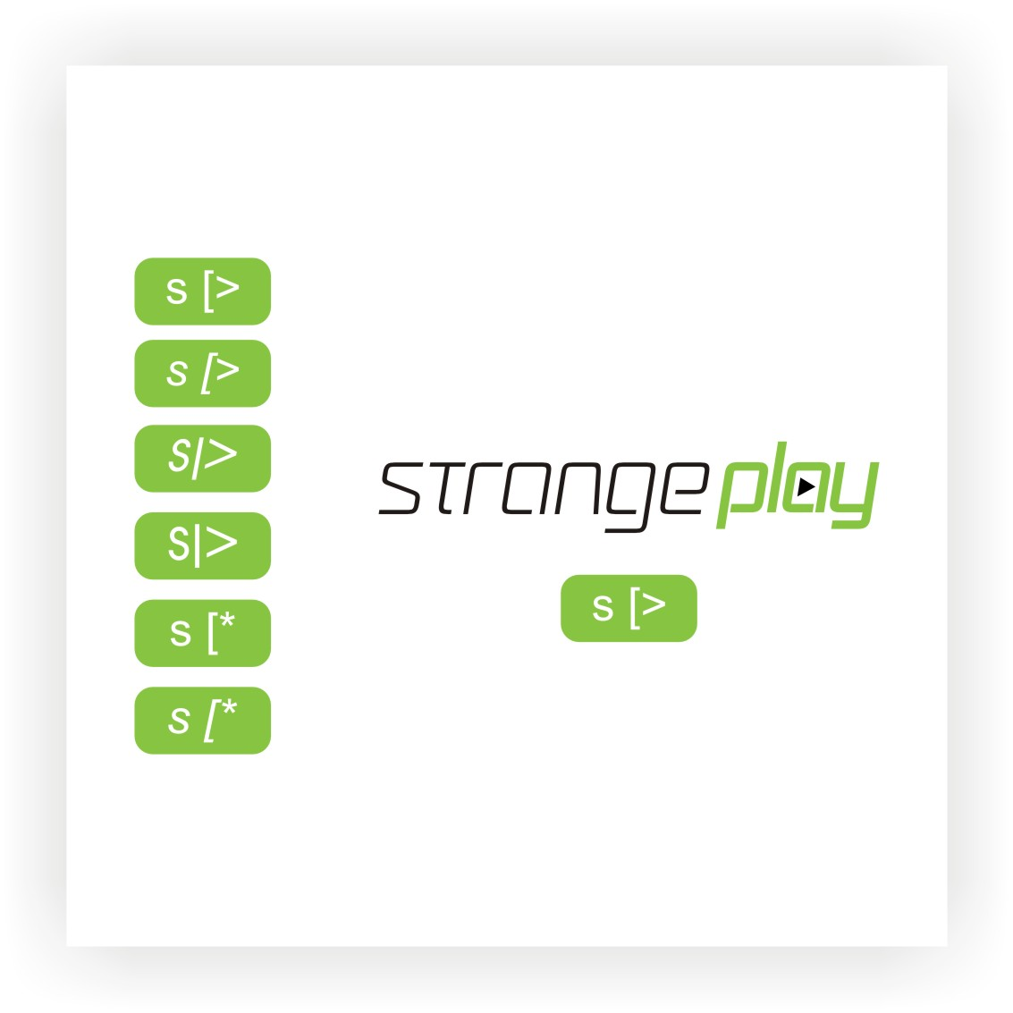 Logo Design by graphicleaf - Entry No. 112 in the Logo Design Contest Strange Play Logo Design.