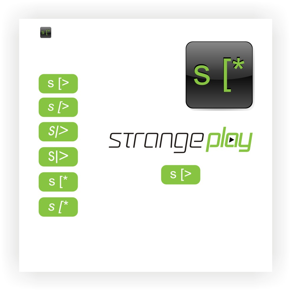 Logo Design by graphicleaf - Entry No. 114 in the Logo Design Contest Strange Play Logo Design.