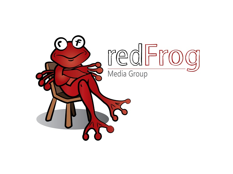 Logo Design by kowreck - Entry No. 27 in the Logo Design Contest New Logo Design for Red Frog Media Group.