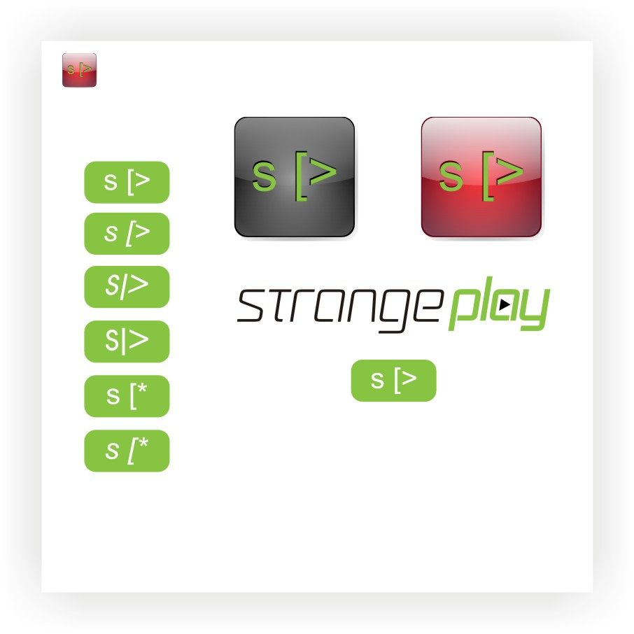 Logo Design by graphicleaf - Entry No. 123 in the Logo Design Contest Strange Play Logo Design.