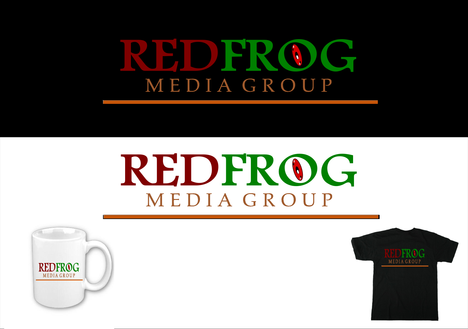 Logo Design by Joseph calunsag Cagaanan - Entry No. 30 in the Logo Design Contest New Logo Design for Red Frog Media Group.