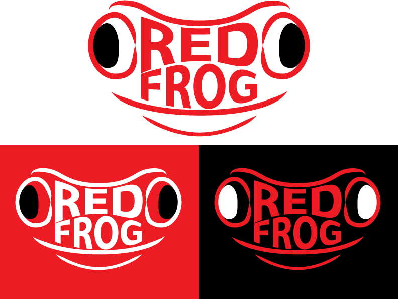 Logo Design by IconicDesign - Entry No. 31 in the Logo Design Contest New Logo Design for Red Frog Media Group.