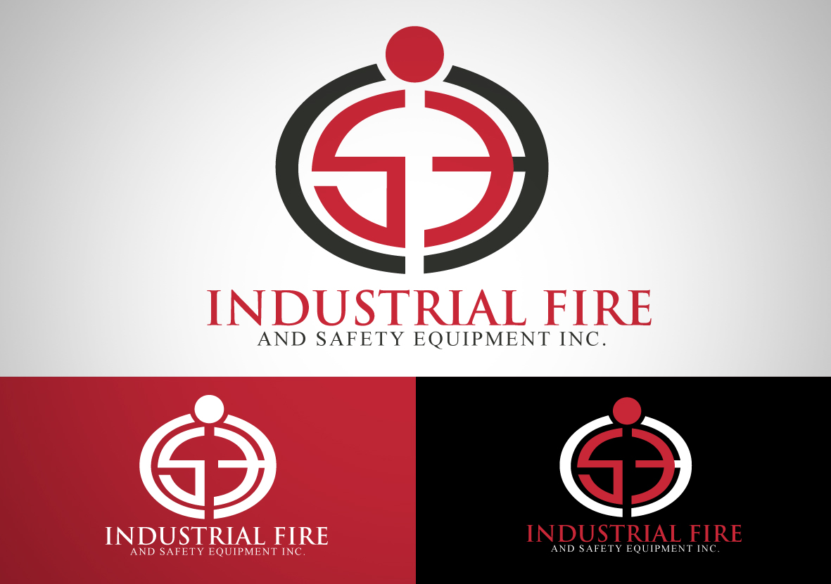 Logo Design by iingjember - Entry No. 170 in the Logo Design Contest New Logo Design for Industrial Fire and Safety Equipment, Inc..