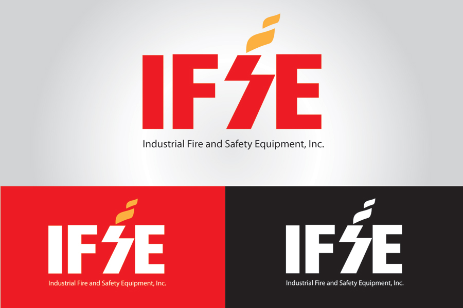 Logo Design by FTdesign - Entry No. 171 in the Logo Design Contest New Logo Design for Industrial Fire and Safety Equipment, Inc..