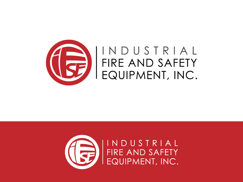 Logo Design by imtan2x - Entry No. 178 in the Logo Design Contest New Logo Design for Industrial Fire and Safety Equipment, Inc..